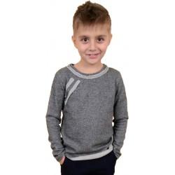 Реглан для мальчика серого цвета